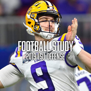A Study of the 2019 LSU Offense