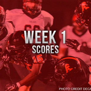 AHSAA Week 1 Football Scores