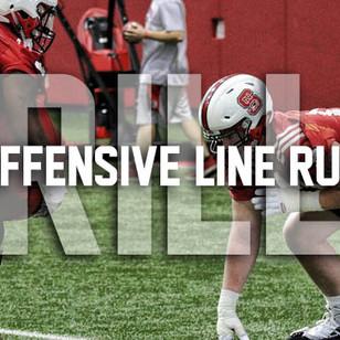 Offensive Line Run Blocking Drills