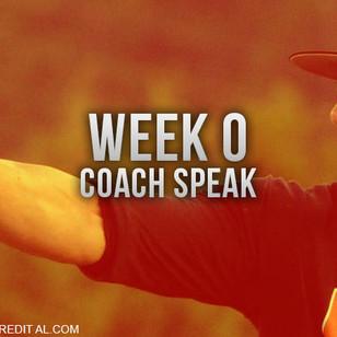CoachTalk from Week Zero of the AHSAA Football Season