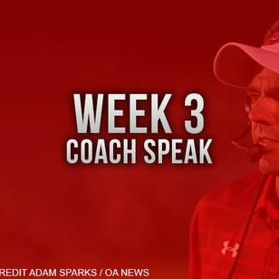 CoachSpeak for Week 3