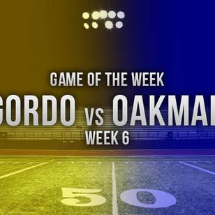 Gordo Travels to Oakman in ALFCA Game of the Week