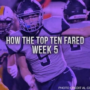 How the Top Ten Fared