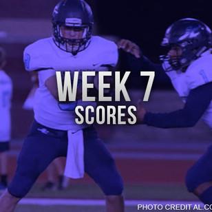 Week 7 Scores