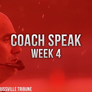 CoachSpeak Week 4