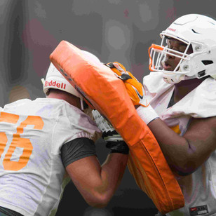 Tennessee Spring Practice Video