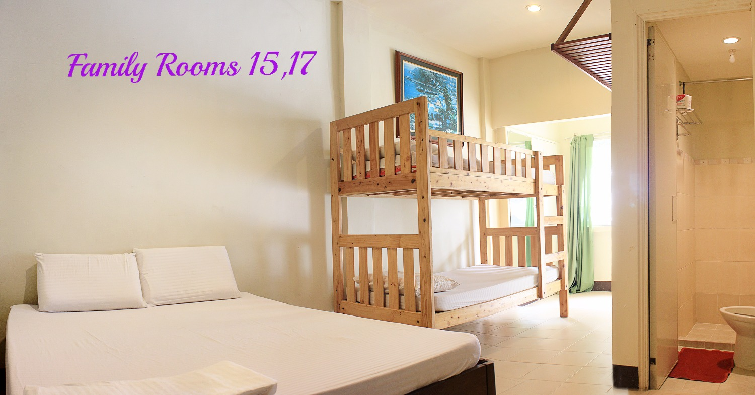 Family Rooms 15 and 17