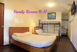 Family Rooms 8 - 11
