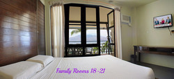 Family Rooms 18 - 21