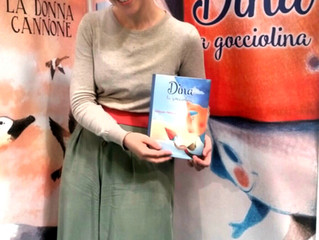 Dina La Gocciolina Published! Salone Internazionale del Libro Torino
