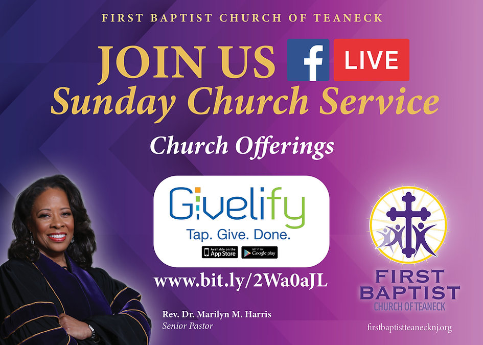 FBCT Givelify Church Service Streaming 2