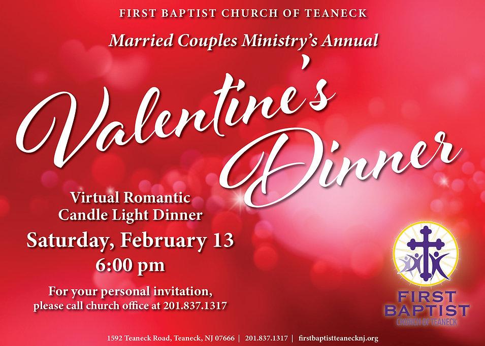 FBCT Valentines Day Dinner 2021 flyer 5x