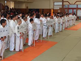 (公社)沖縄県柔道整復師会旗争奪第20回整骨少年柔道大会