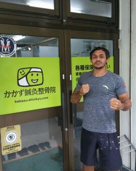 ブラジリアン柔術世界チャンピオン・ベッチーニュ選手