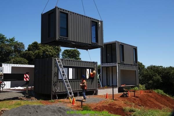 containers aménagés R+1