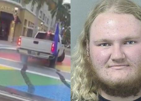 Florida Man Charged with Defacing LGBTQ Crosswalk During Trump Rally
