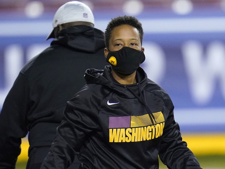 Jennifer King makes NFL history as First Black, Female Assistant Coach for Washington Football Team