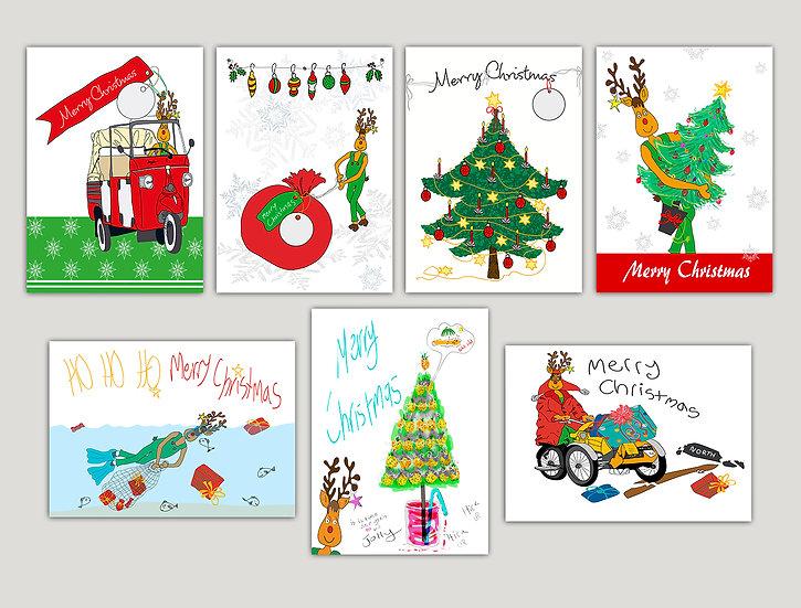 7 Rudolf Clan Cards