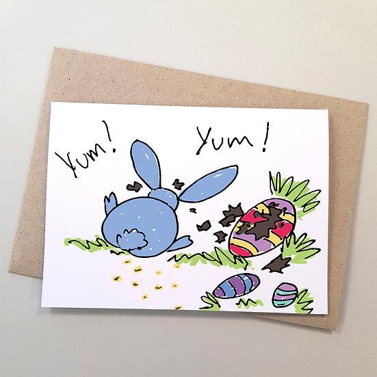 Bunny Rabbit Yum Yum