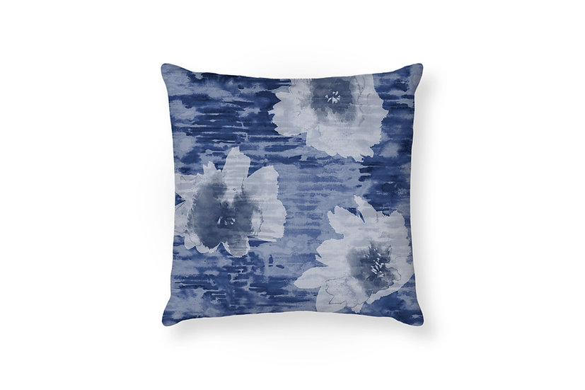 Reflections Night Sky - Flower Cushion - 50cm x 50cm