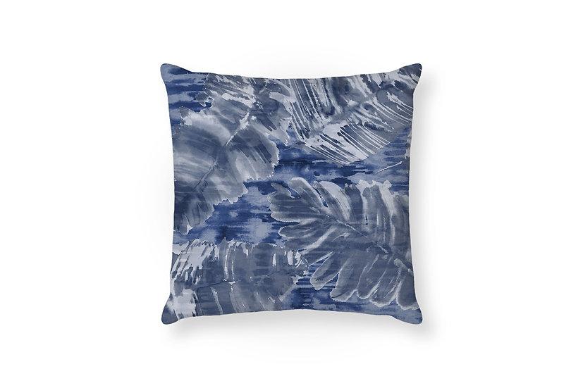 Reflections Night Sky - Leaf Cushion - 50cm x 50cm