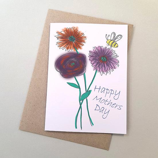 Happy Mothers Day - Gerbera's