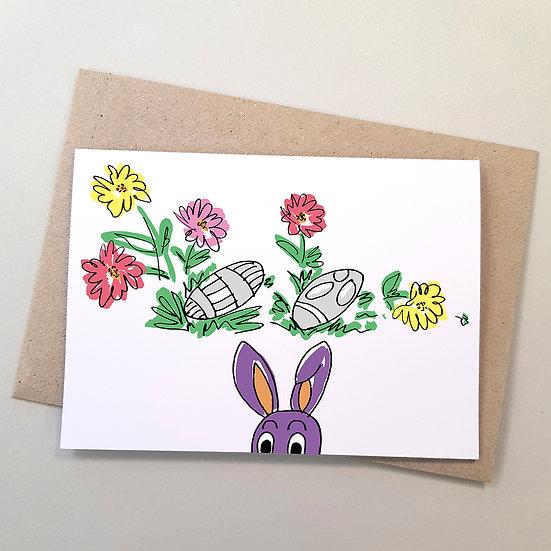 Bunny Rabbit Peekaboo
