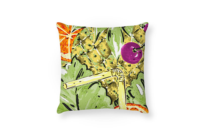 Tropical Punch Cushion - 50cm x 50cm