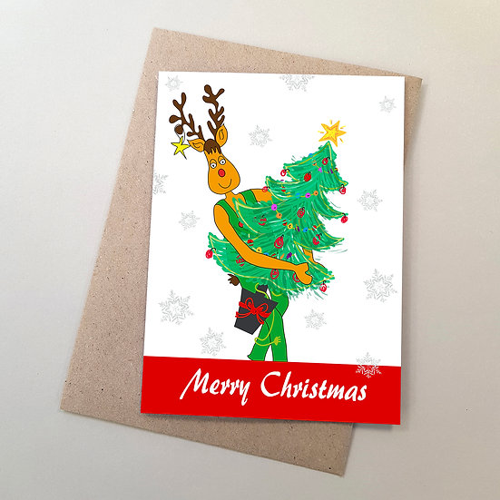 Rudolf & Xmas Tree