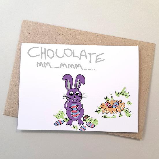 Easter Bunny Chocolate mm..mmm