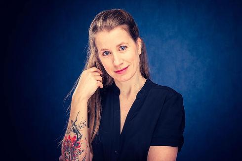 Een opvallende castingfoto van Vivian Dabrowski gemaakt door bekende portretfotograaf Nikki Hoff. Wil jij ook een casting shoot boeken? Dat kan via www.studio86.nl