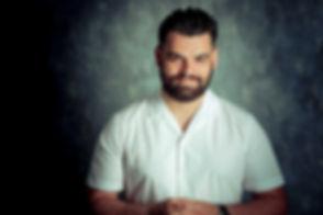 Ook Achmed El Jennouni heeft zijn castingfoto's laten maken bij beroemd fotograaf Nikki Hoff die is gespecialiseerd in portfolio shoots voor casting.  Headshot for casting bureau's. Can be used in a portfolio as well. Male actor.