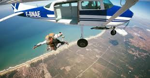 Parachutisme.
