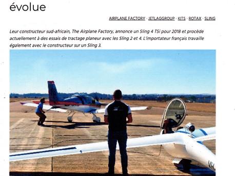 Sling's, Aerobuzz.