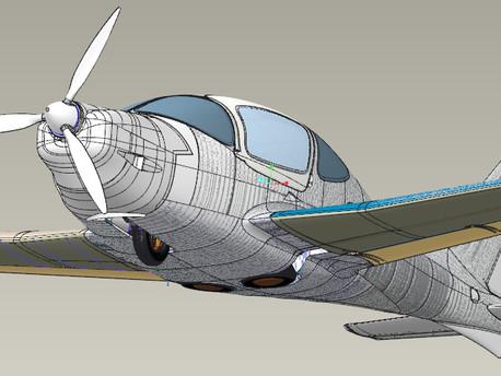 ANG 01, les entrailles / le fuselage.