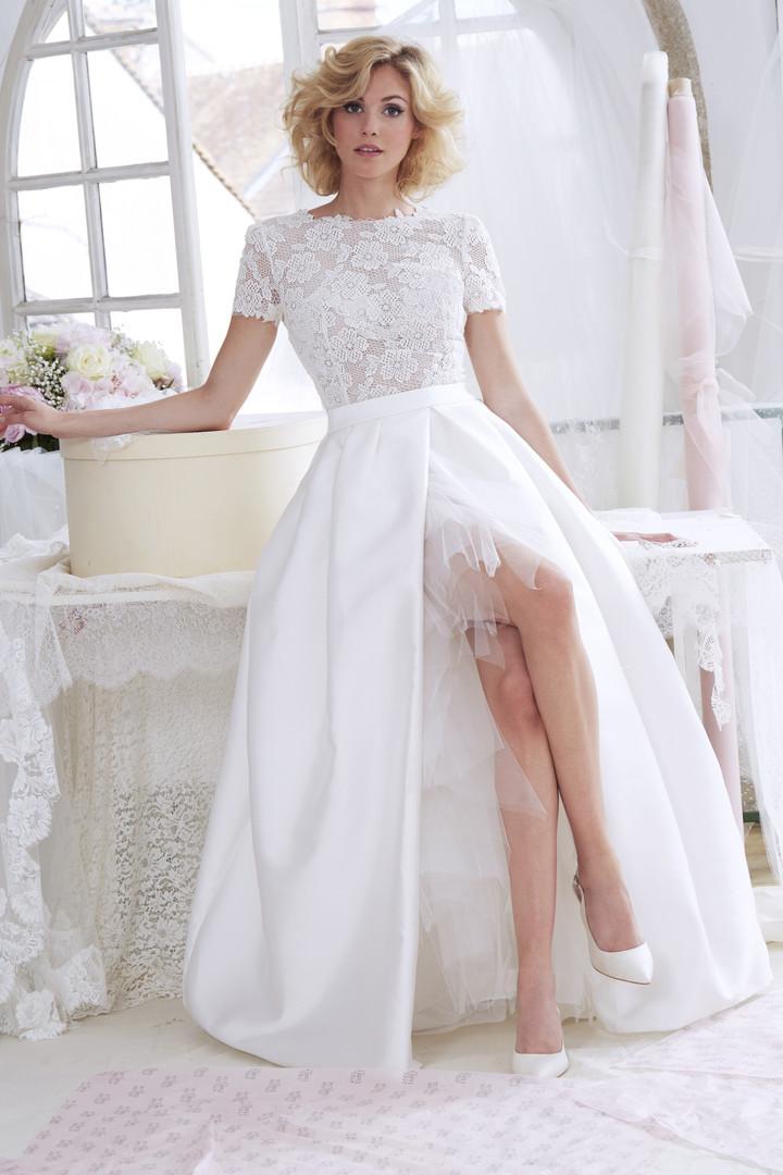 Brautkleid Aquarelle