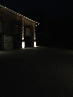 Eclairage extérieur à Corbarieu