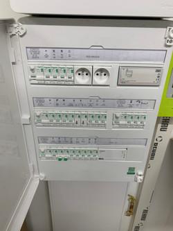 Electricité 7 pavillons à Orgueil