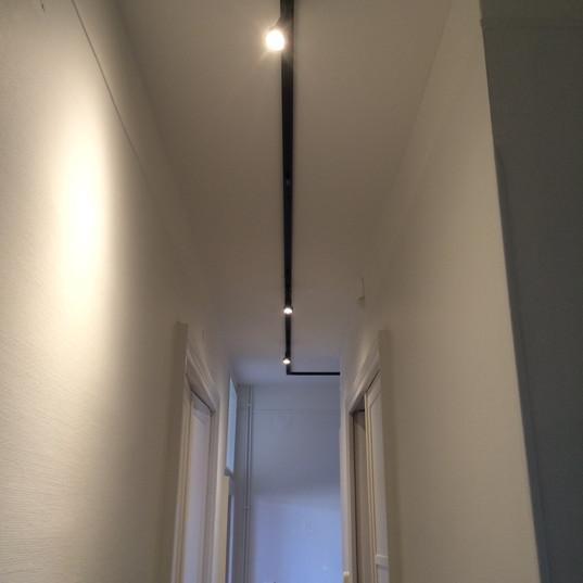Rail + spot led couloir à Montauban