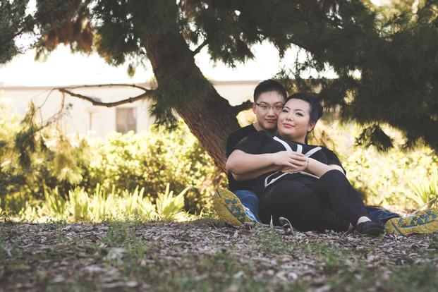 Matthew and Menghua Engagement Photos