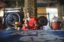Monks Offer Blessings