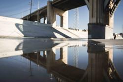 L.A. River shine up