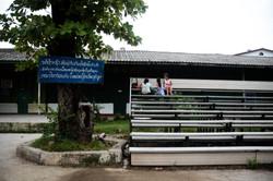 Lao School Bleachers
