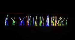Glowsticks water