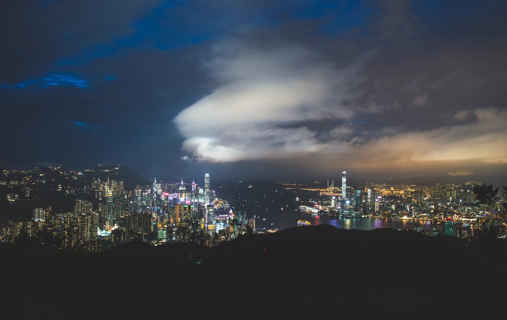 Hong Kong City Panorama