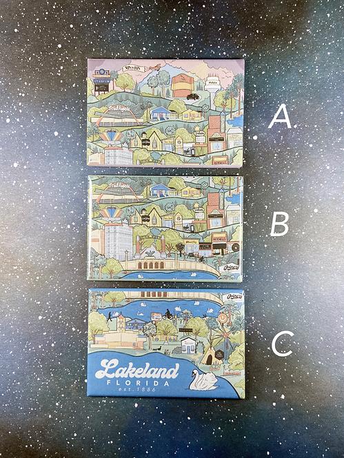 City of Lakeland Souvenir Magnets
