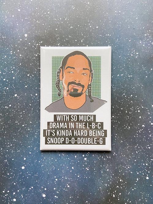 Souvenir Magnet - Snoop Dogg