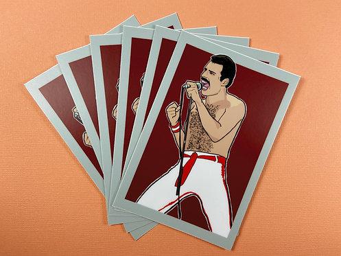 Vinyl Decal - Freddie Mercury