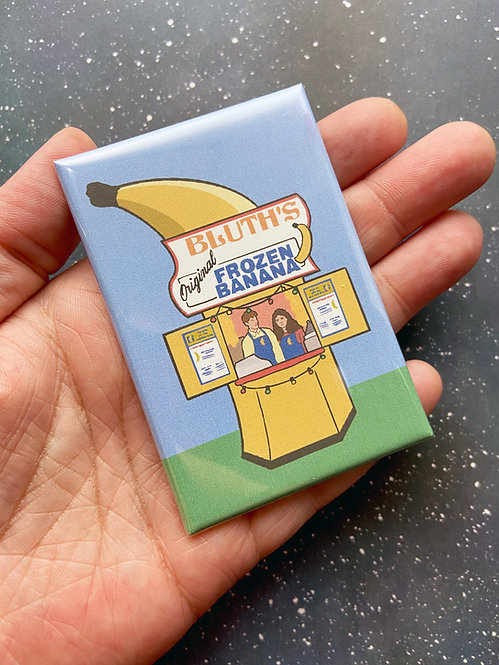 Souvenir Magnet - Banana Stand