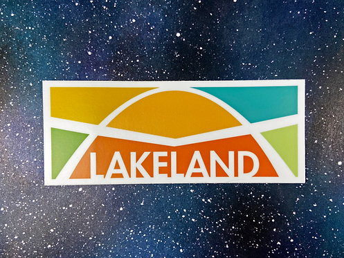 Vinyl Decal - Lakeland